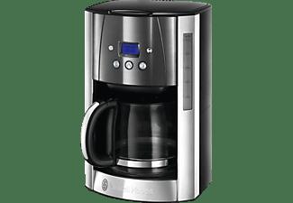 RUSSELL HOBBS 23241-56 Luna Moonlight Grey Kaffeemaschine Edelstahl/Grau