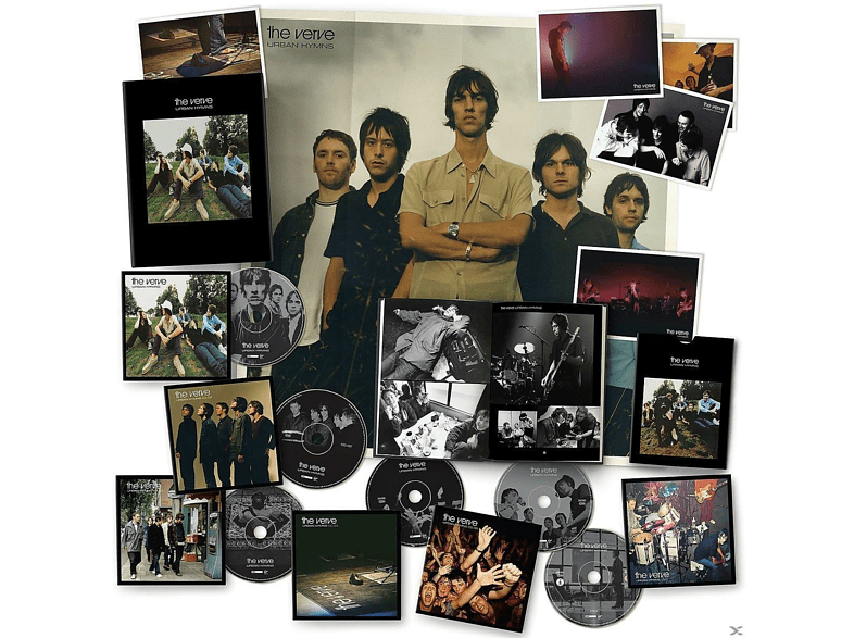 The Verve - Urban Hymns (20th Anniversary Edt) (LTD 5CD+DVD) [CD + DVD Video]