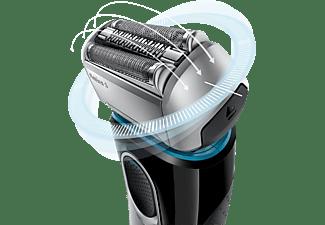 BRAUN Series 5 - 5195cc Rasierer Schwarz/Silber (Skin-Sensitive-Technologie)