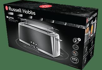 RUSSELL HOBBS 23251-56 Luna Moonlight Grey Toaster Edelstahl/Grau (1420 Watt, Schlitze: 1)