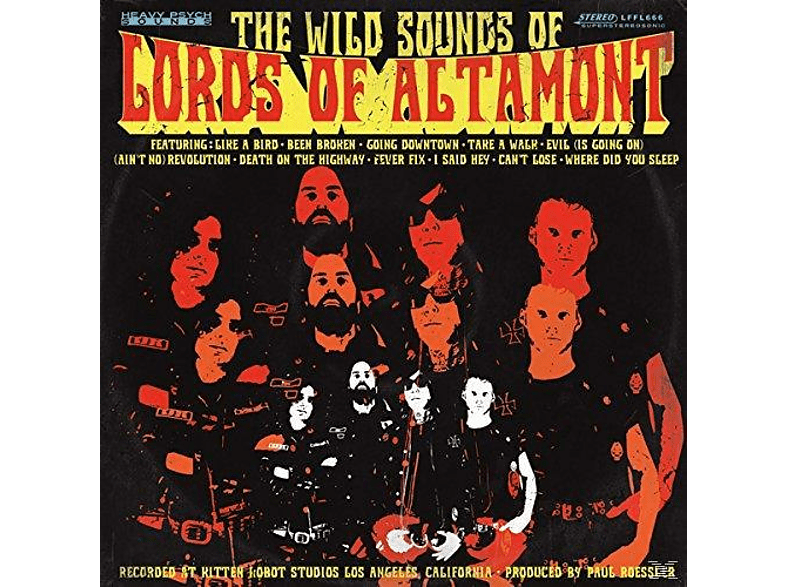 The Lords Of Altamont - The Wild Sounds Of The Lords Of Altamont [Vinyl]