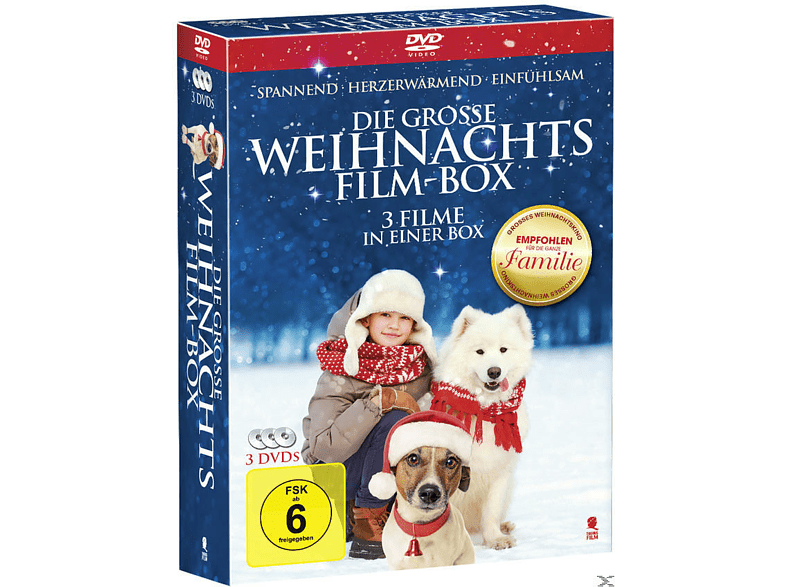 Die grosse Weihnachtsfilm-Box [DVD]