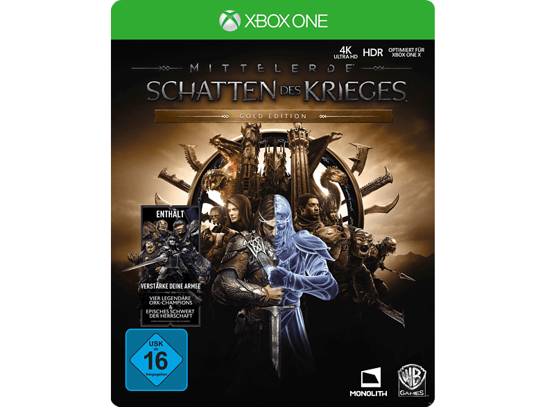 Mittelerde - Schatten des Krieges (Gold Edition) [Xbox One]