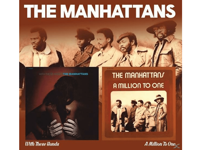 The Manhattans - With These Hands/A Million T [CD]