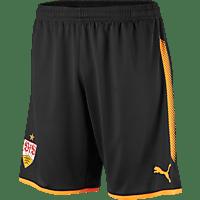 PUMA VfB Stuttgart Short, Schwarz/Orange