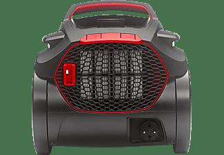 FAKIR 3658003 Air Wave Prestige 2400 Staubsauger, maximale Leistung: 500 Watt, Rot/Schwarz)