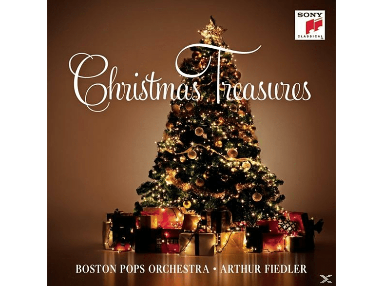 Boston Pops Orchestra - Christmas Treasures [CD]