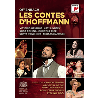 Thomas Hampson, Sofia Fomina, Vittorio Grigolo, Royal Opera Chorus, Orchestra Of The Royal Opera House, Christine Rice - Les Contes d'Hoffmann/Hoffmanns Erzählungen [DVD]