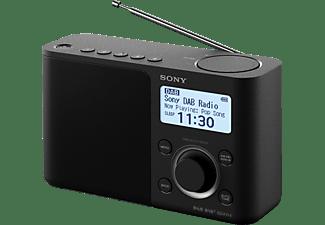SONY XDR-S61D DAB+ Radio, digital, FM, DAB+, DAB, Schwarz