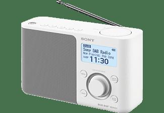 SONY XDR-S61D DAB+ Radio, digital, FM, DAB+, DAB, Weiß