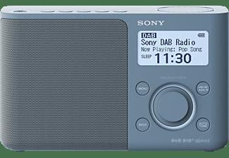 SONY XDR-S61D DAB+ Radio, digital, FM, DAB+, DAB, Blau