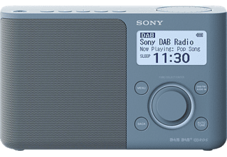 SONY DAB/DAB+ Radio XDR-S61D, blau, Digital Radio Portable