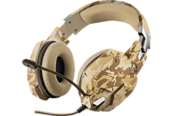 TRUST Gaming GXT 322D Carus, Over-ear Gaming Headset Desert Camouflage