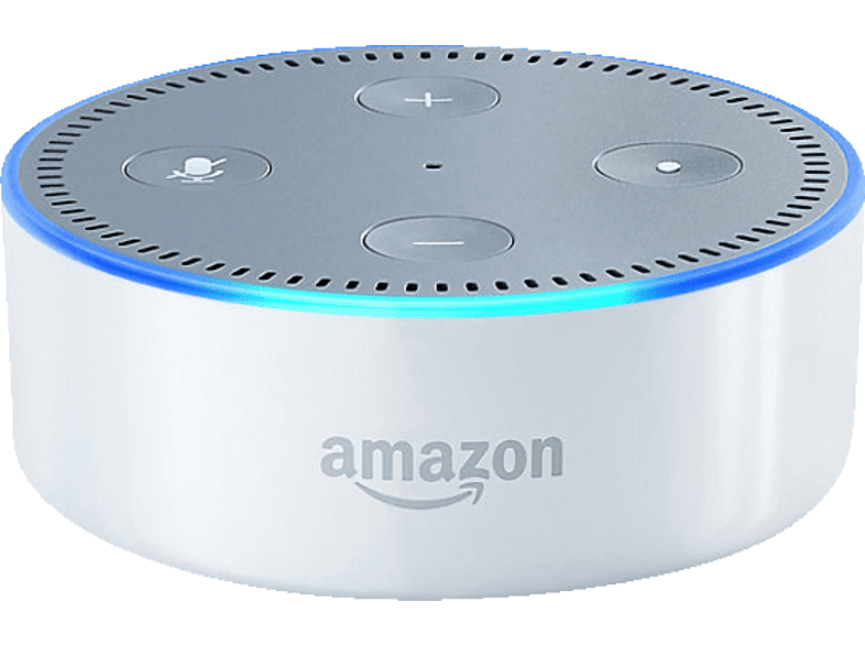 Amazon Echo Dot 2 Generation Kompatibel Mit Amazon Alexa Weiss Kaufen Saturn