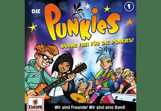 Die Punkies - 001/Bühne frei für die Punkies!  - (CD)