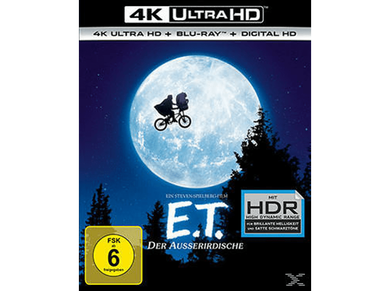E.T. - Der Außerirdische [4K Ultra HD Blu-ray + Blu-ray]