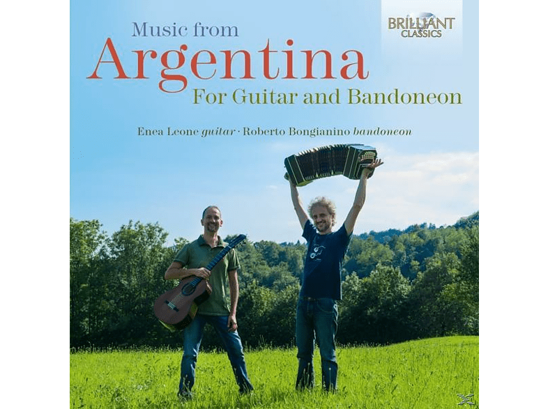 Enea Leone, Roberto Bongianino - Music From Argentina For Guitar And Bandoneon [CD]