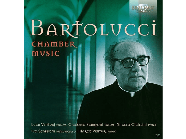 Giacomo Scarponi, Luca Venturi, Ivo Scarponi, Angelo Cicillini, Marco Venturi - Chamber Music [CD]
