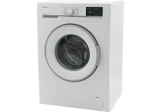 SHARP ES-GFB7143W3-DE  Waschmaschine (7,0 kg, 1400 U/Min.)