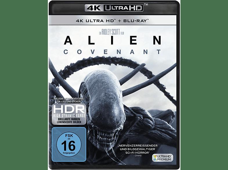 Alien: Covenant (Ultra HD Premium + BRD) [4K Ultra HD Blu-ray + Blu-ray]