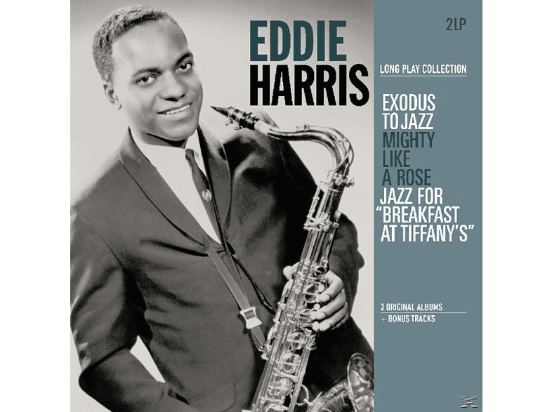 Eddie Harris - Exodus To Jazz/Mighty Like A Rose/Jazz For Breakfa [Vinyl]