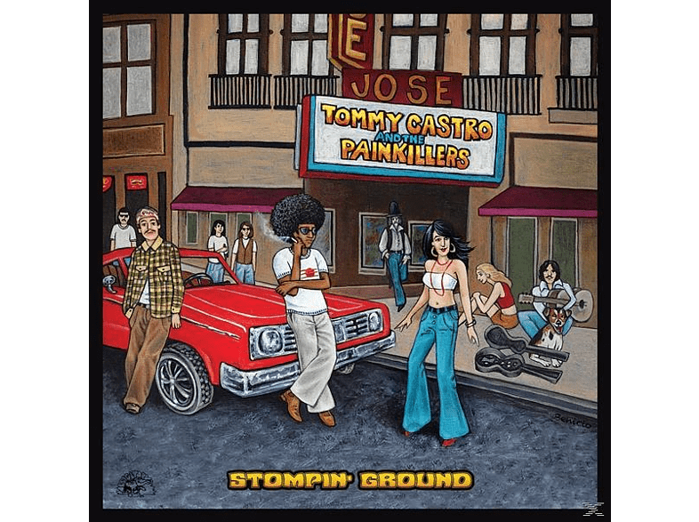 Tommy And The Painkillers Castro - Stompin' Ground [Vinyl]