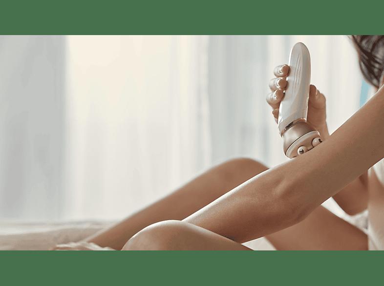 epilier-epiliergerät-glatte-beine-frau-philips-badezimmer-massageaufsatz