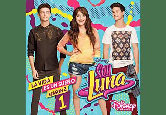 Soy Luna - Soy Luna: La Vida Es Un Sueno (Staffel 2,Vol.1)  - (CD)