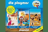 Die Playmos - Die Große Römer Und Ägypter-Box - (CD)