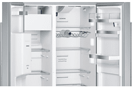 SIEMENS KA 92 DHI 31 iQ700 Side-by-Side (348 kWh/Jahr, A++, 1756 mm hoch, inox-antifingerprint)