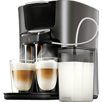 PHILIPS SENSEO® HD6574/50 Latte Duo Plus Padmaschine (Anthrazit)