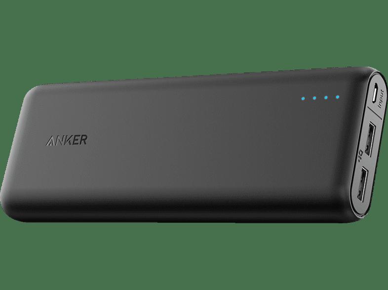 ANKER PowerCore Powerbank 15600 mAh Schwarz