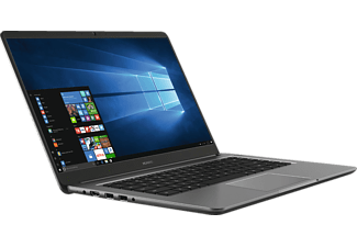 """Portátil - Huawei MateBook D, 15.6"""" Full HD, i5-7200U, 8 GB RAM, 256 GB SSD, Aluminio, Negro"""