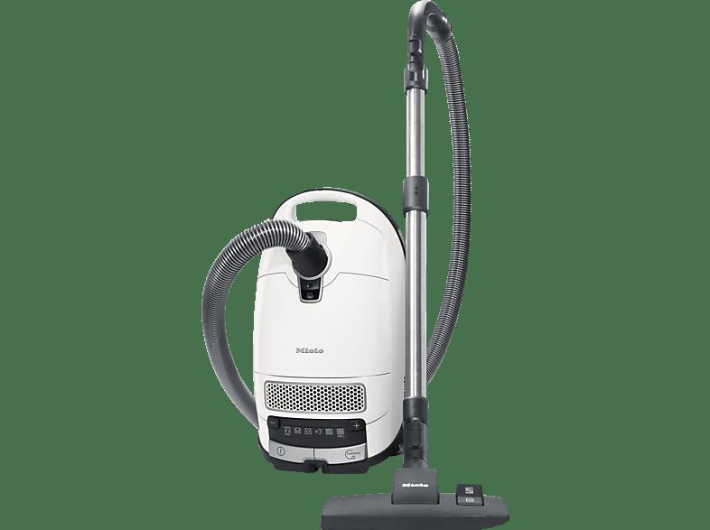 MIELE S 8340 PowerLine (mit Beutel, AirClean Filter, Motorschutzfilter, Lotosweiß)