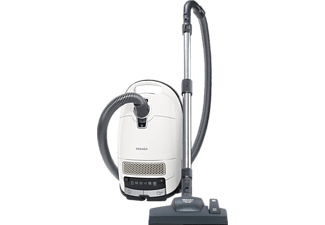 MIELE Complete C3 Silence EcoLine, Staubsauger, 550 Watt, Lotosweiß