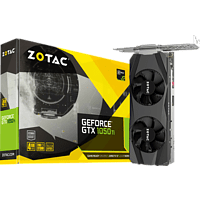 ZOTAC GeForce® GTX 1050Ti Low Profile 4GB (ZT-P10510E-10L) (NVIDIA, Grafikkarte)
