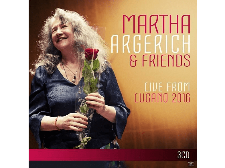 Martha Argerich - Argerich and Friends Live from Lugano 2016 [CD]