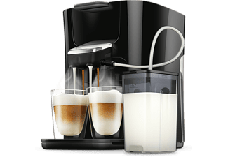 PHILIPS Senseo Kaffeepadmaschine HD6570/60 Latte Duo Plus, schwarz