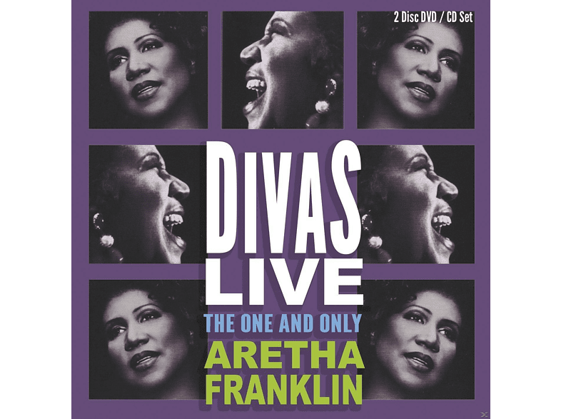 Aretha Franklin - Divas Live (CD+DVD) [CD + DVD Video]