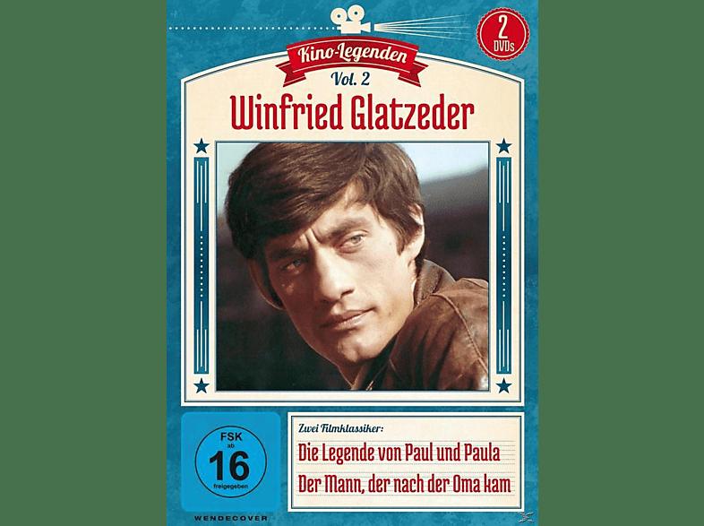 Winfried Glatzeder - Die Legende von Paul und Paula / Der Mann, der nach der Oma kam [DVD]
