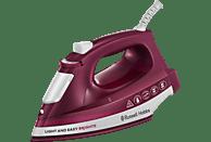 RUSSELL HOBBS 24820-56 Light & Easy Mulberry Dampfbügeleisen (2400 Watt, antihaftversiegelte Keramik)