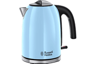RUSSELL HOBBS 20417-70 Colours Plus+ H. Wasserkocher, Himmelblau/Edelstahl/Schwarz