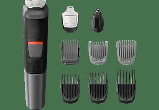 PHILIPS Multigroom Serie 5000 9-in-1, für Gesicht und Haare MG5720/15, schwarz-grau