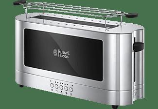 RUSSELL HOBBS 23380-56 Elegance Toaster Edelstahl/Schwarz (1420 Watt, Schlitze: 1)