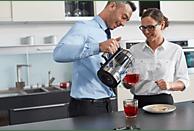 RUSSELL HOBBS 23830-70 Elegance Wasserkocher, Edelstahl/Schwarz