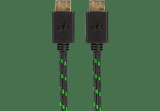 SNAKEBYTE SB909979 HDMI:CABLE PRO™ (3m) Xbox One HDMI Kabel, Schwarz/Grün