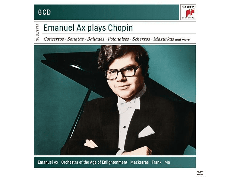 Emanuel Ax, Orchestra Of The Age Of Enlightenment - Emanuel Ax Plays Chopin [CD]