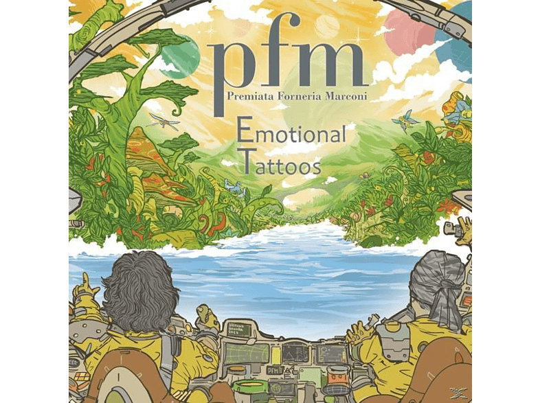Premiata Forneria Marconi - Emotional Tattoos [LP + Bonus-CD]
