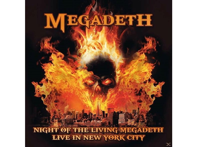 Megadeth - Night Of The Living Megadeth (180 Gr.Red Vinyl) [Vinyl]