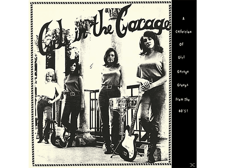 VARIOUS - Girls In The Garage (Lim.180 Gr.Yellow Vinyl) [Vinyl]